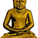 Golden Buddha in Peace