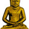 Golden Buddha in Peace