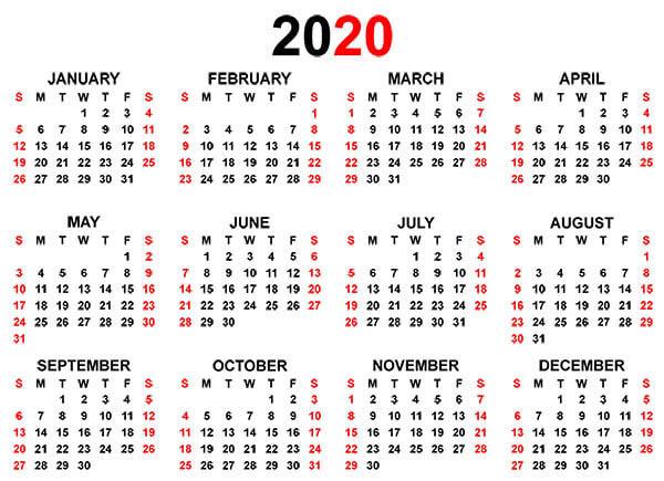 Calendar For The One Open Door Website