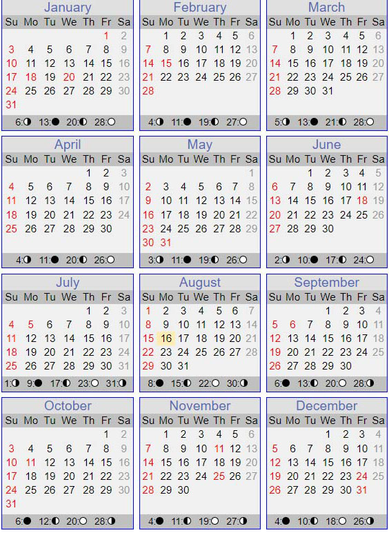 2021 Calendar for One Open Door